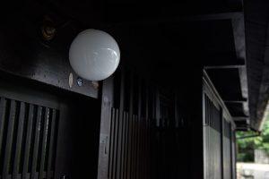 13聚楽第の家_玄関灯
