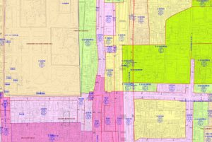 京都市都市計画図